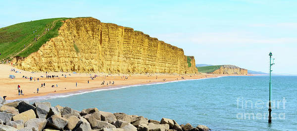 Photograph - West Bay, Dorset by Colin Rayner
