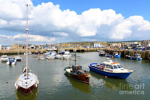 Photograph - West Bay Harbour by Colin Rayner