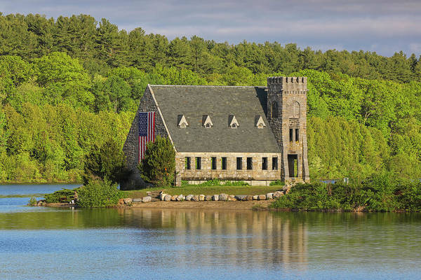 Photograph - West Boylston Old Stone Church by Juergen Roth