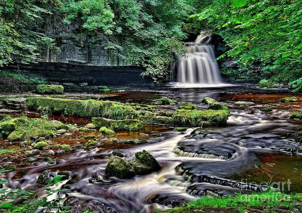 Photograph - West Burton Waterfall, Yorkshire Dales by Martyn Arnold
