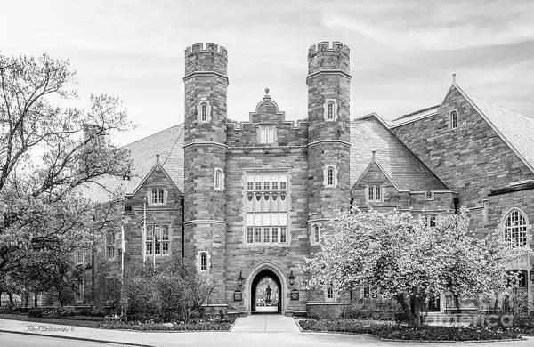 Photograph - West Chester University Philips Hall by University Icons