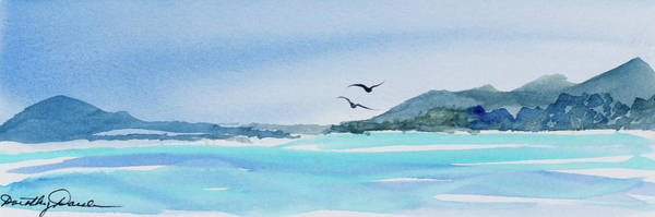 Painting - West Coast  Isle Of Pines, New Caledonia by Dorothy Darden