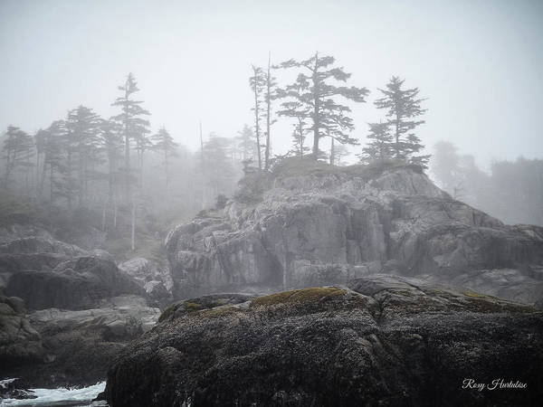 Photograph - West Coast Landscape Ocean Fog IIi by Roxy Hurtubise