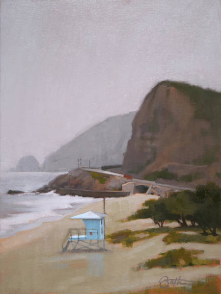 Highway Painting - West Coast by Todd Baxter