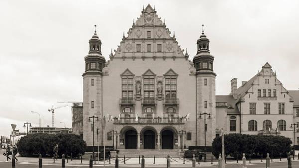 Photograph - West Facade Of Adam Mickiewicz University Poznan Poland by Jacek Wojnarowski
