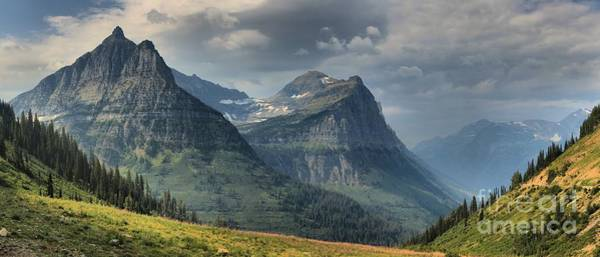 Photograph - West Glacier Mountains by Adam Jewell