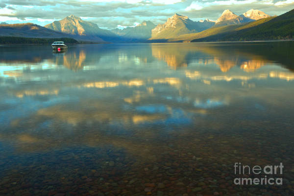 Photograph - West Glacier September Sunset by Adam Jewell
