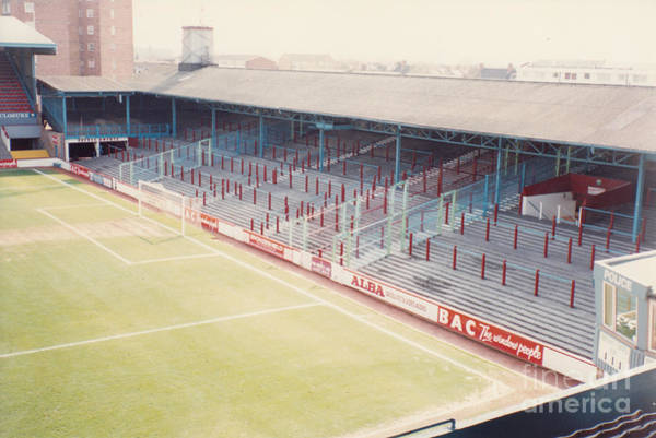 Wall Art - Photograph - West Ham - Upton Park - South Stand 1 - April 1991 by Legendary Football Grounds