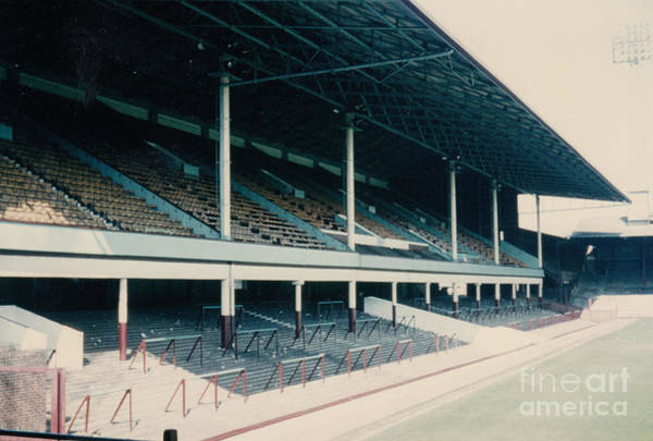 Wall Art - Photograph - West Ham - Upton Park - West Stand 2 -1970s by Legendary Football Grounds