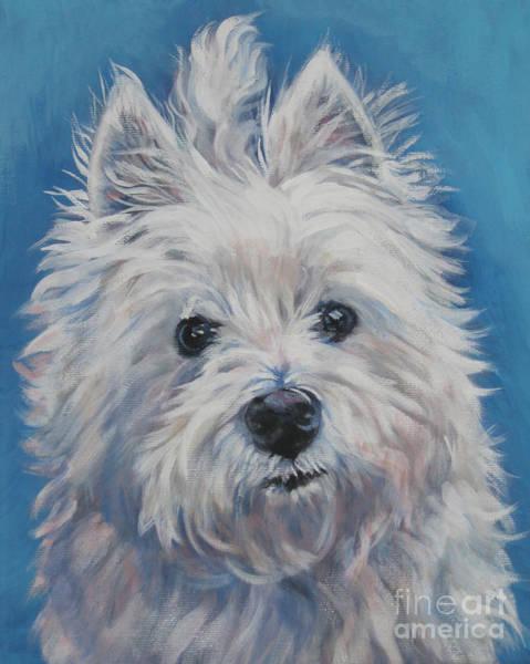 Wall Art - Painting - West Highland Terrier by Lee Ann Shepard