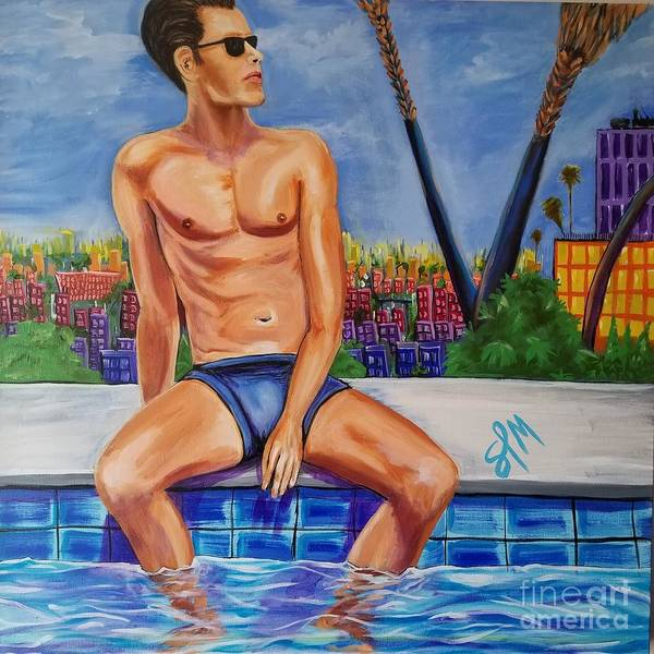 Painting - West Hollywood Daydream by Shawn Christopher Mooney
