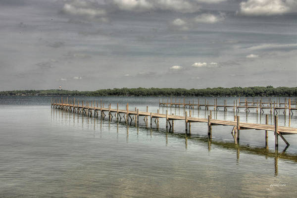 Photograph - West Lake Docks by Gary Gunderson