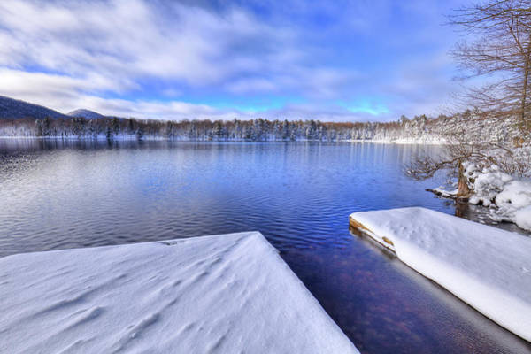 Photograph - West Lake Snow by David Patterson