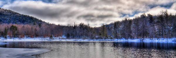 Photograph - West Lake Winter Panorama by David Patterson
