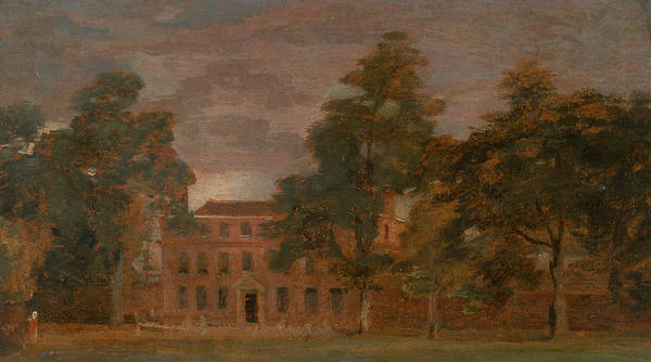 Painting - West Lodge East Bergholt by John Constable
