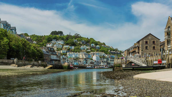Photograph - West Looe From East Looe At Low Tide. by Maggie McCall