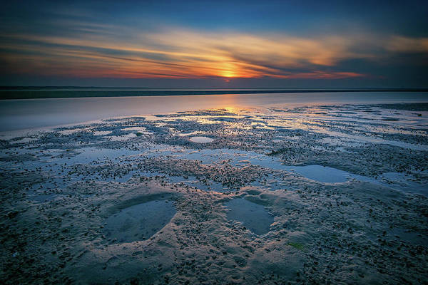 Wall Art - Photograph - West Meadow Beach Afterglow by Rick Berk