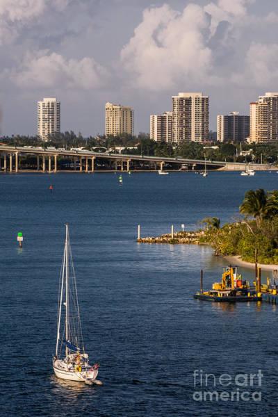Flagler Photograph - West Palm Beach Skyline 2 by Zina Stromberg