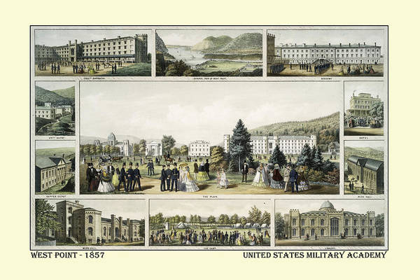 Wall Art - Photograph - West Point 1857 by Andrew Fare