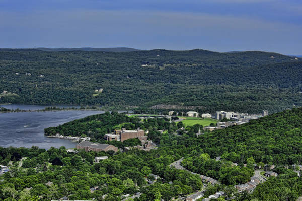 West Point Photograph - West Point From Storm King Overlook by Dan McManus