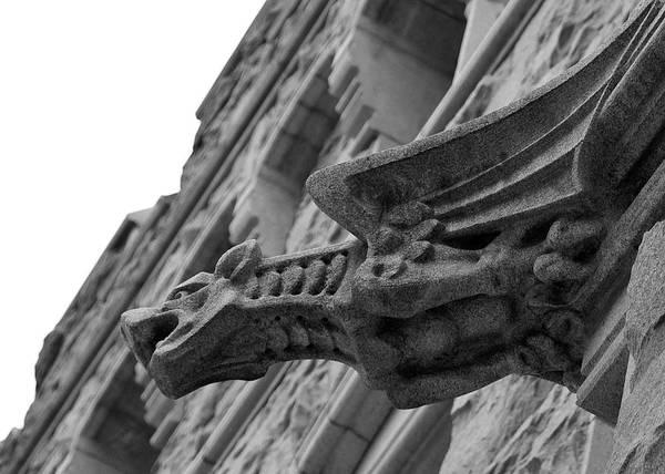 Photograph - West Point Gargoyle by Dan McManus
