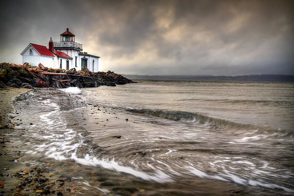 Photograph - West Point Light House by Ryan Smith