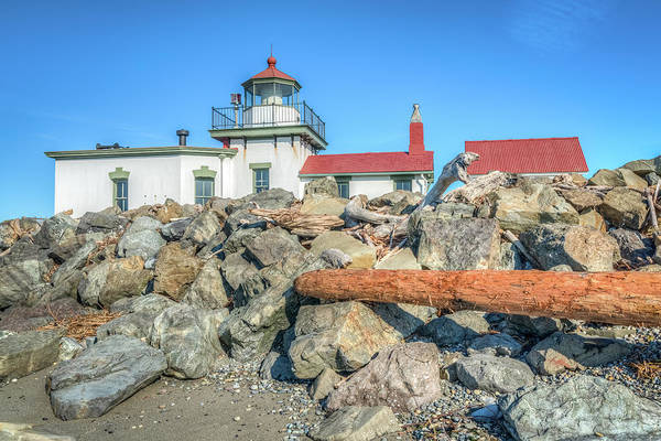 Wall Art - Photograph - West Point Lighthouse by Spencer McDonald