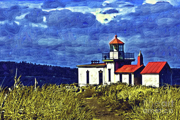West Bay Digital Art - West Point Sits Alone by Kirt Tisdale