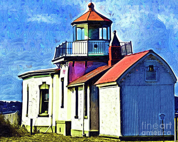 West Bay Digital Art - West Point Up Close by Kirt Tisdale