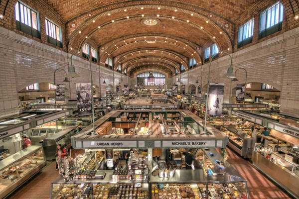 Photograph - West Side Market by Brent Durken