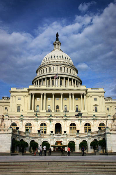 Photograph - West Side Of The Capitol by Ben Shields