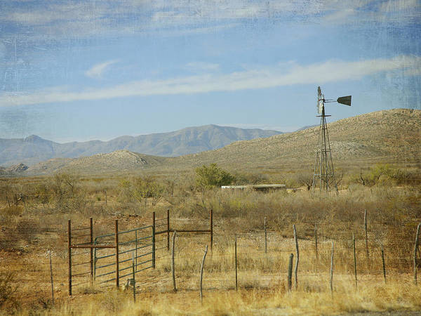 Photograph - West Texas Ranch Scene II by Charles McKelroy