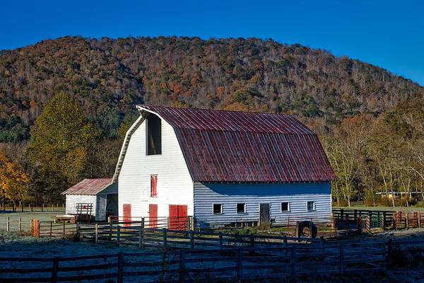 Feedlot Photograph - West Virginia Barn by Mountain Dreams