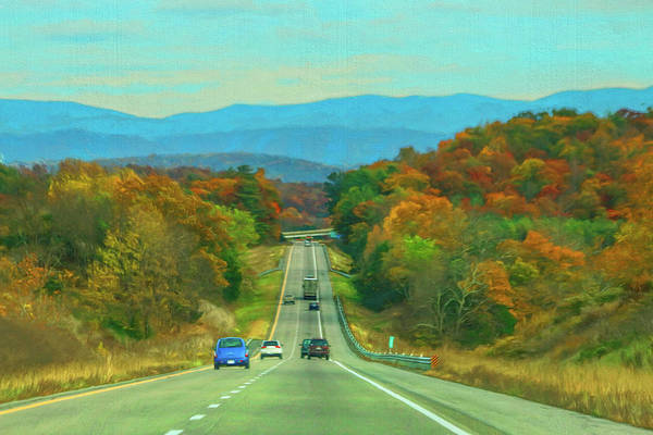 Photograph - West Virginia Bound by Ola Allen