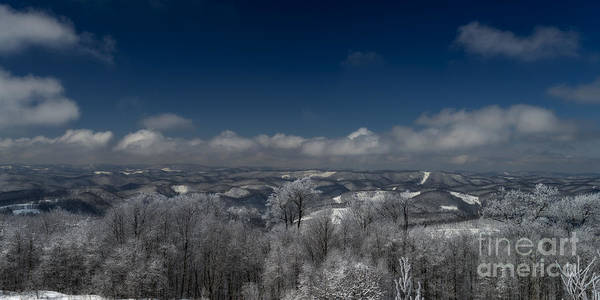 Photograph - West Virginia Mountains by Dan Friend