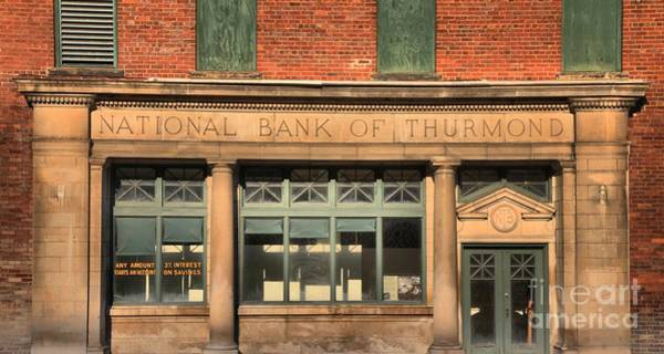 Photograph - West Virginia National Bank Of Thurmond by Adam Jewell