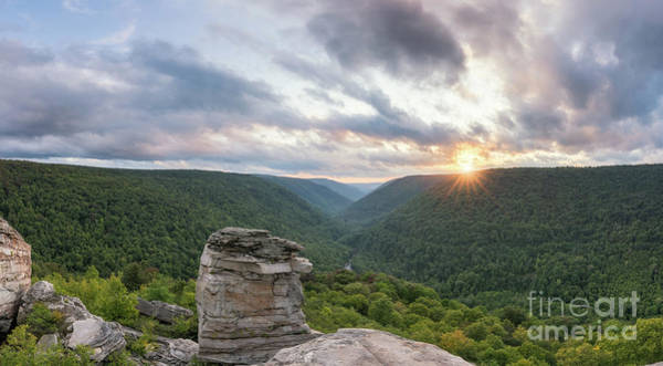 Wall Art - Photograph - West Virginia Sunset From Lindy Point by Michael Ver Sprill