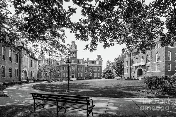 West Virginia Photograph - West Virginia University Woodburn Circle by University Icons