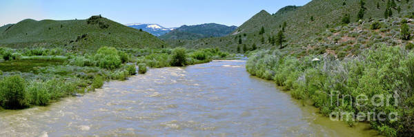 Photograph - West Walker River Panorama by Joe Lach