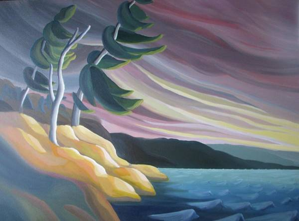 Painting - West Wind by Barbel Smith