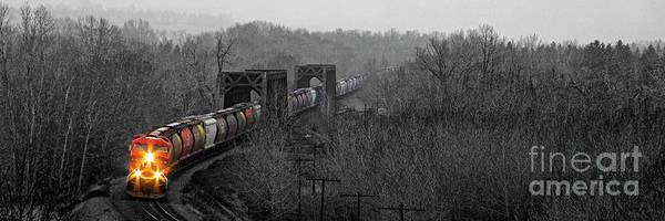 Photograph - Westbound Grain by Brad Allen Fine Art