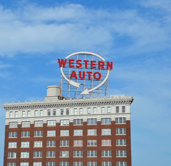 Photograph - Western Auto Kansas City by Gia Marie Houck