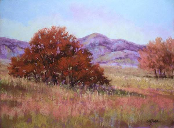 Wall Art - Painting - Western Autumn by Paula Ann Ford