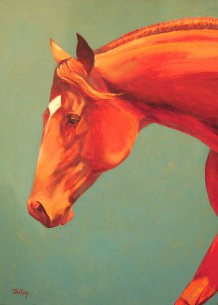 Horsemanship Painting - Western Champion by Pam Talley