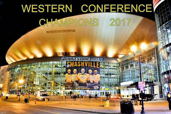 Photograph - Western Conference Champions 2017 by Lisa Wooten
