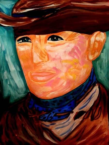 Painting - Western Cowboy by Nikki Dalton