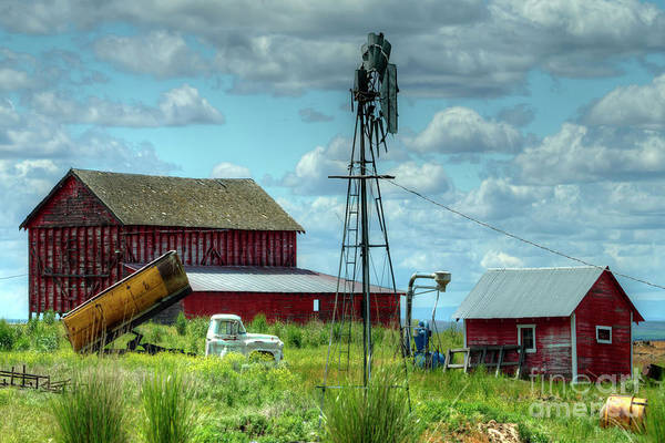 Wall Art - Photograph - Western Farm by Rick Mann