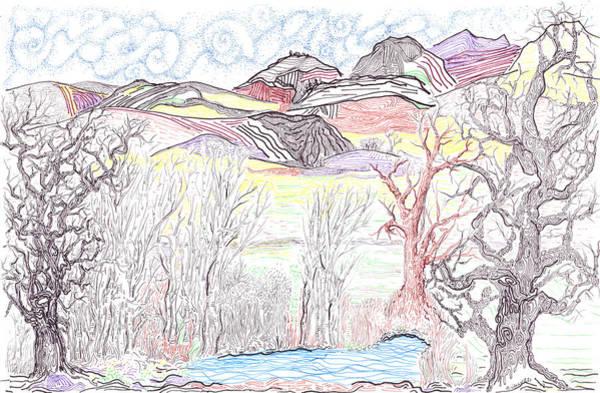 Painting - Western Foothills by Regina Valluzzi