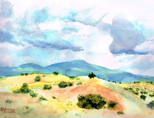 Western Landscape Art Print