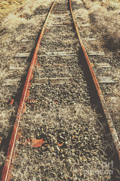 Details Photograph - Western Railway Of Routes Forgotten by Jorgo Photography - Wall Art Gallery